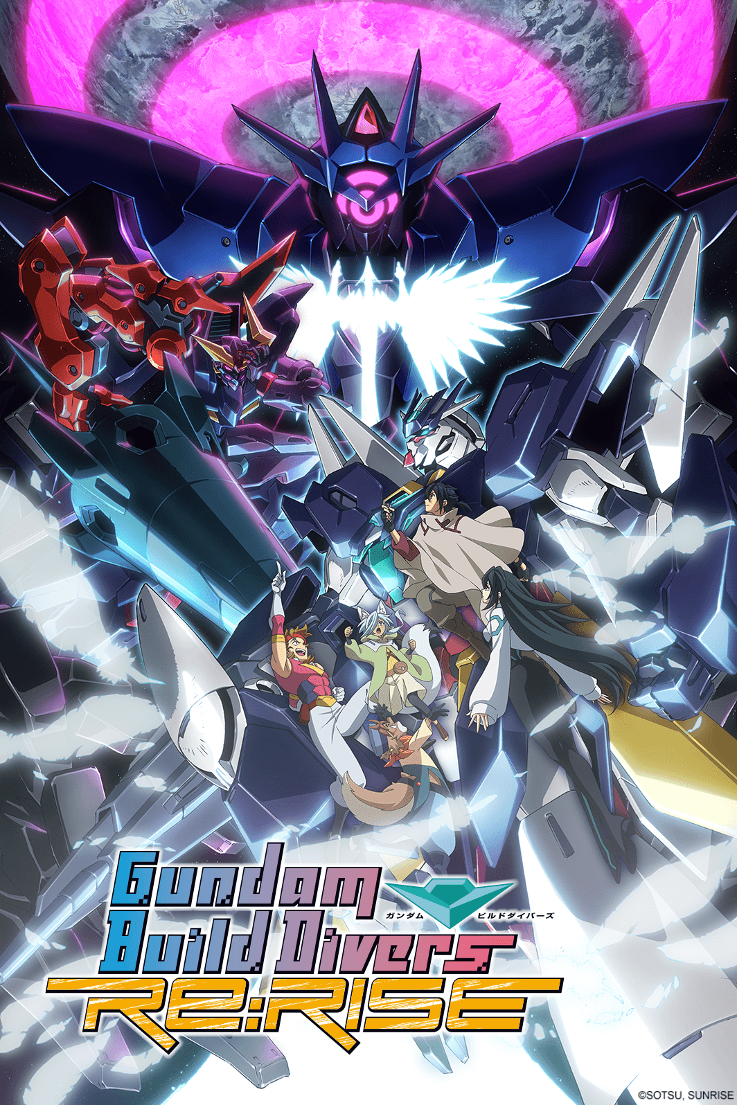 Gundam Build Divers ReRISE S2 2x3 1